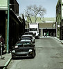 Line of Cars, Don Gaspar Street, Santa Fe, NM