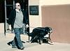 Large Dog, W. San Francisco Street, Santa Fe, NM