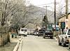Wires, Canyon Road, Santa Fe, NM