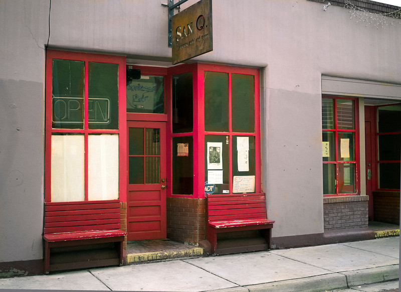 Cafe San Q, Burro Alley, Santa Fe, NM