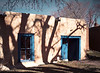 Shadows on a Wall, Bent Street, Taos, NM