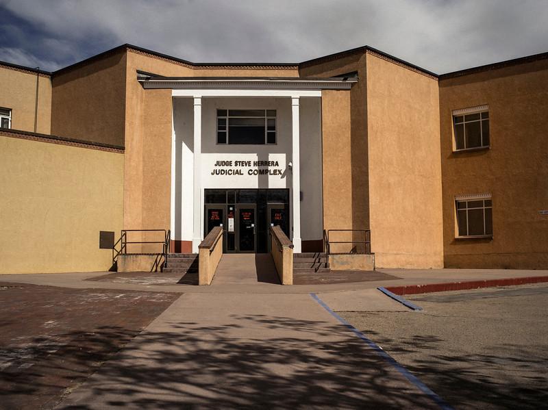 Back Door, Judicial Complex, Santa Fe, NM