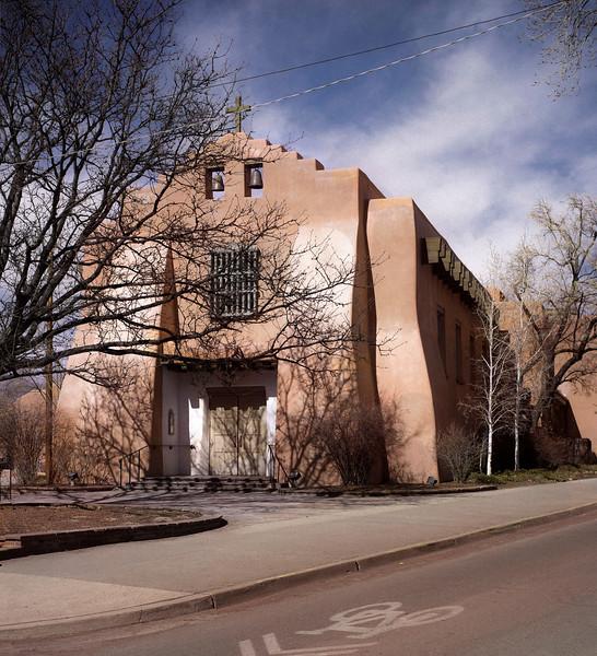 Front Door, Presbyterian Church, Santa Fe, NM