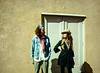 Couple,  I, Burro Alley, Santa Fe, NM