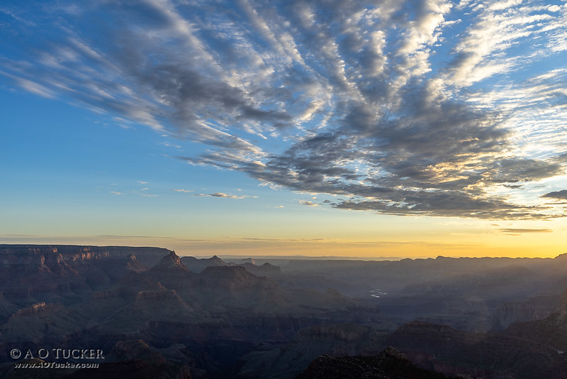 Sunrise From Grandview Point