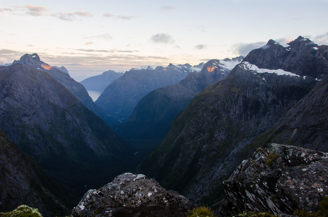 Looking to MIlford Sound