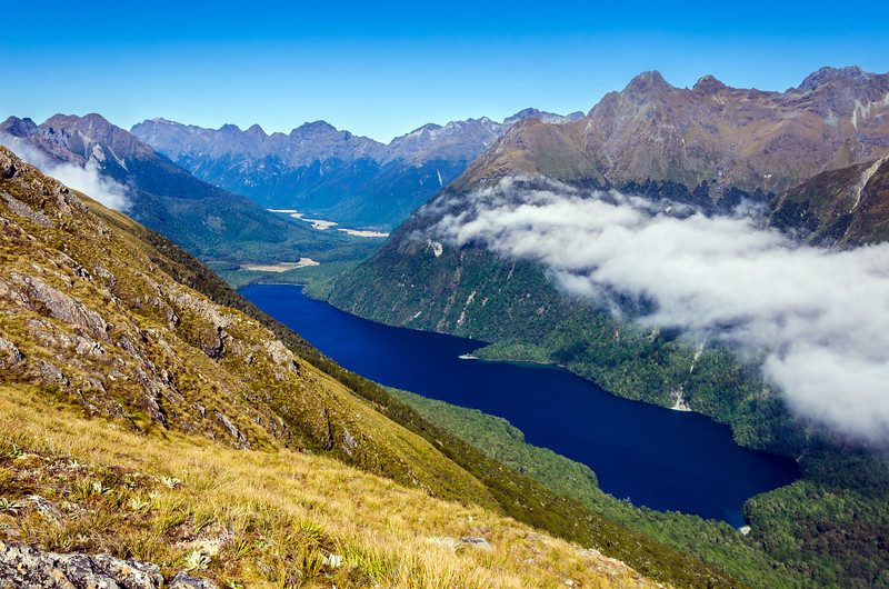 Lake McKellar, Fiordland, New Zealand