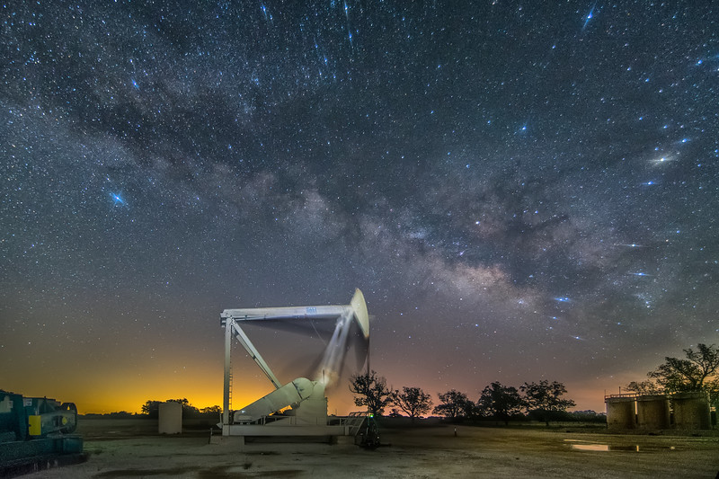 Under a Texas Milky Way