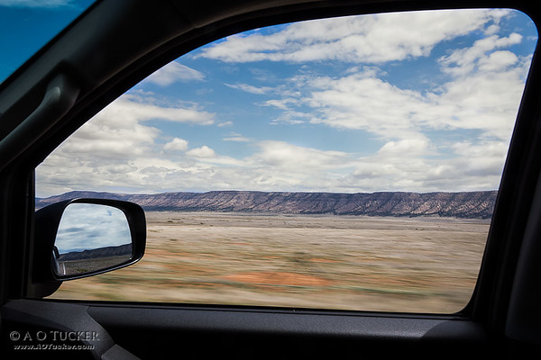 Route 66 Window View
