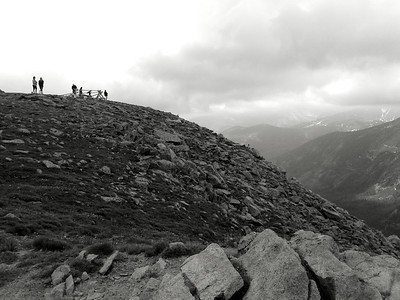 Forrest Canyon Overlook, Trail Ridge Road.