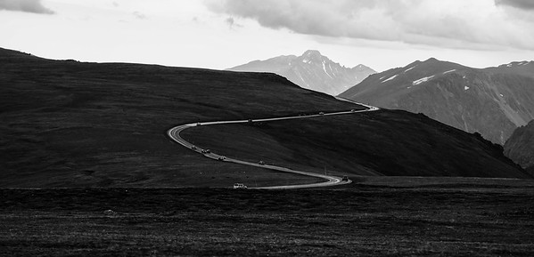 Trail Ridge Road and Longs Peak.