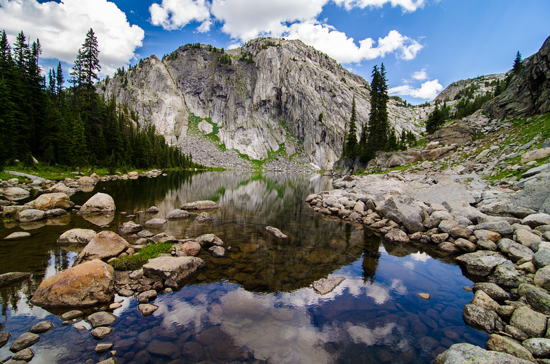 Ouzel Lake, Absaroka-Beartooth Wilderness, Montana