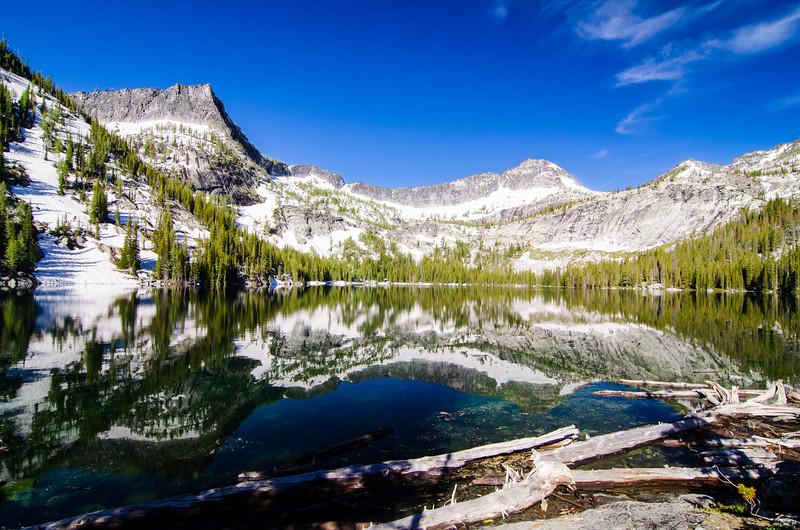 Canyon Lake, Bitterroot Mountains, Montana