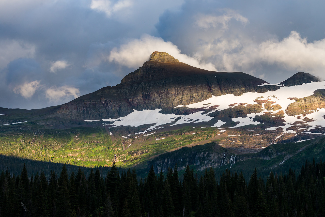 Mt Logan, Glacier National Park