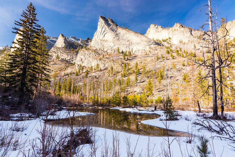 Blodgett Canyon, Bitterroot Wilderness, Montana