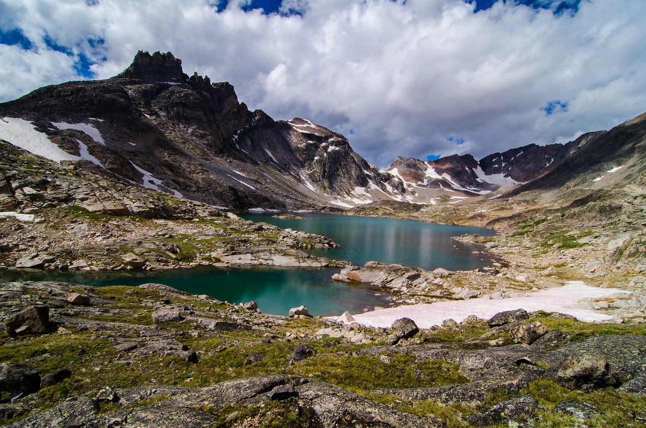 Sky Top Lakes, Absaroka-Beartooth Wilderness, Montana