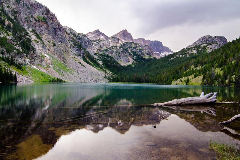 Echo Lake, Absaroka-Beartooth Wilderness, Montana