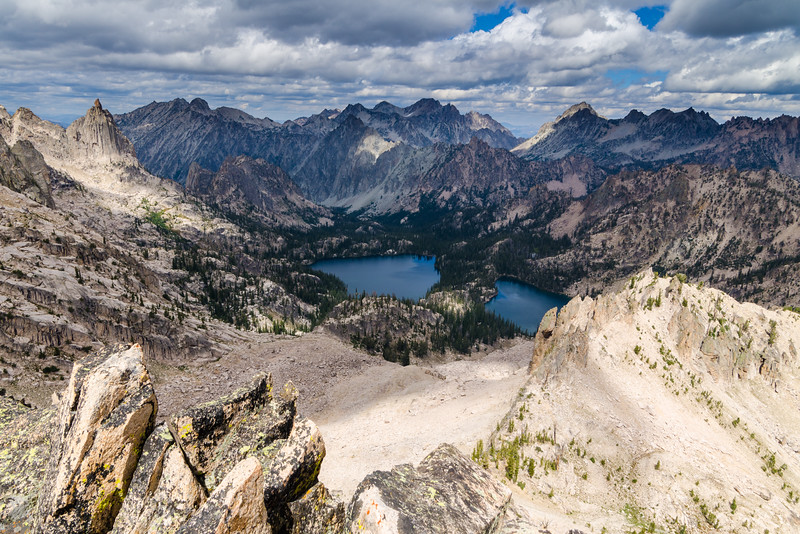 Baron Lakes, Sawtooth Wilderness, Idaho