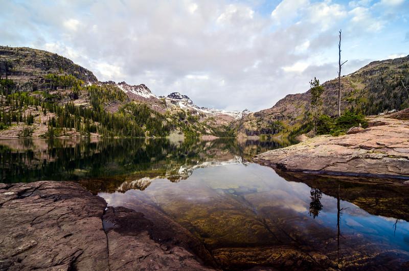 Grey Wolf Lake, Mission Mountain Wilderness, Montana