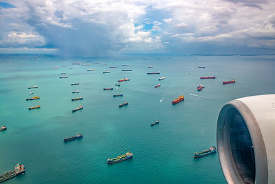 Ships in the Singapore Strait