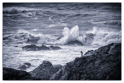 Photographing Big Sur in Black and White