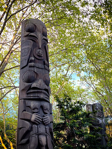 Totem Poles in Seattle