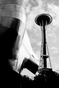 EMP Museum and the Space Needle