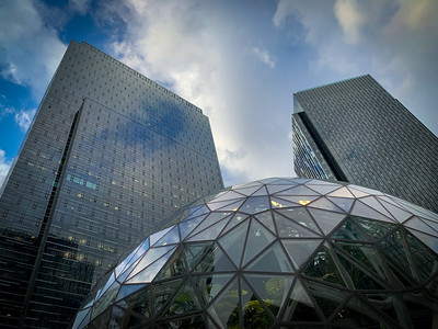 Amazon Sphere in Belltown, Seattle