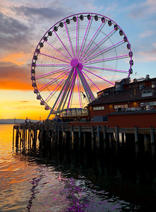 The Great Wheel on Seattle Waterfront