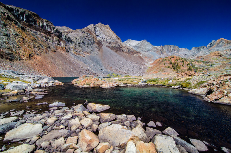 Upper Twin Island Basin, Ansel Adams Wilderness