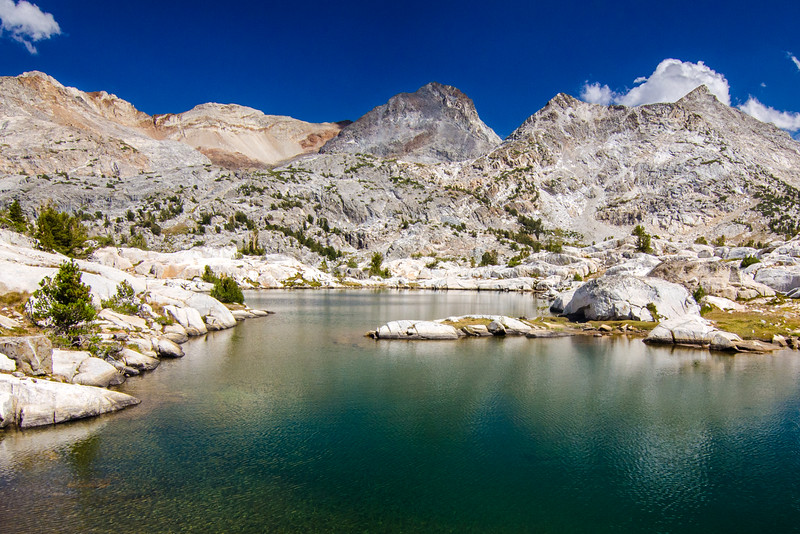 Silver Divide Lake, Ansel Adams Wilderness