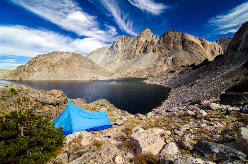 Davis Lake Camp, Kings Canyon National Park