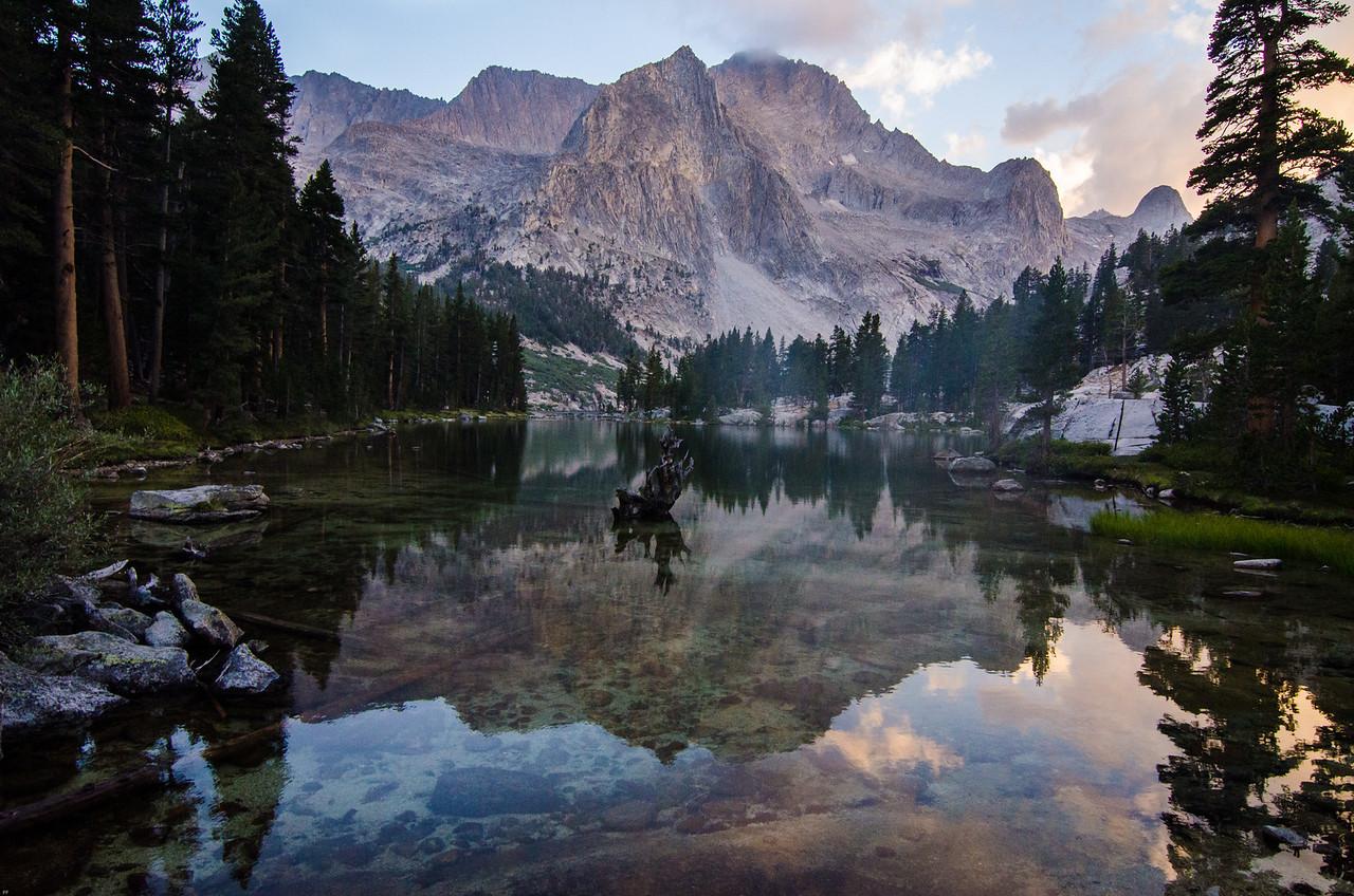 Lake Reflection, Kings Canyon National Park, California