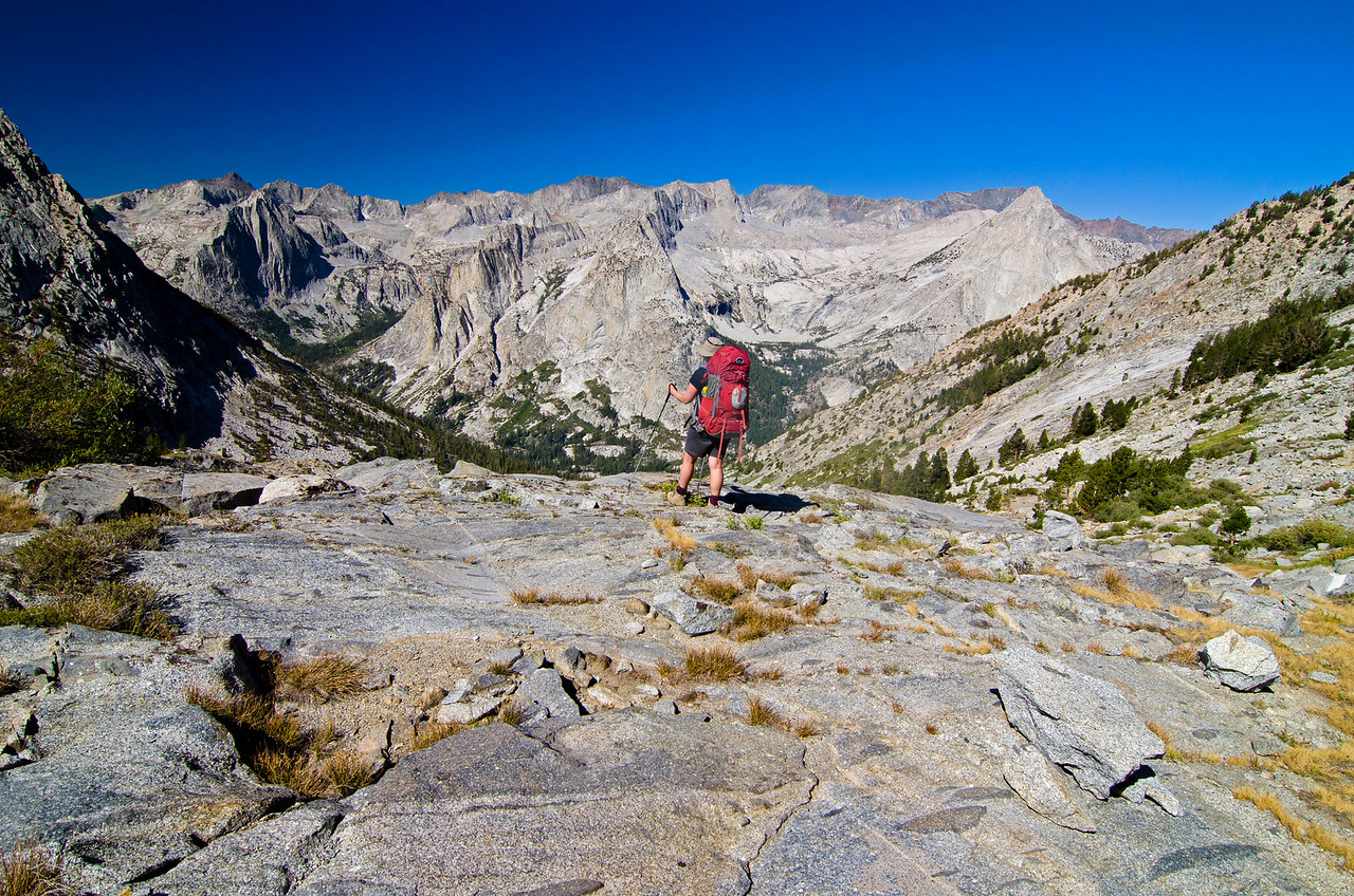 Overlooking Leconte Canyon, Kings Canyon National Park