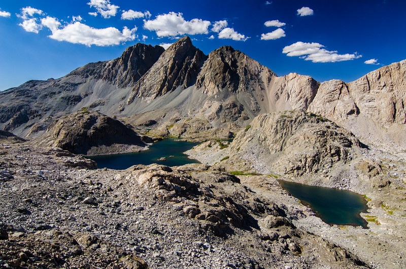 Mt McGee and Davis Lake, Kings Canyon National Park