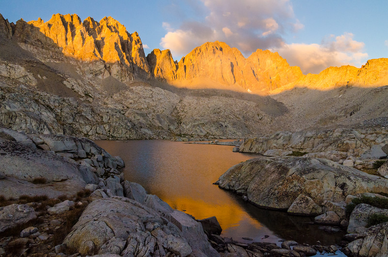 Dusy Basin, Kings Canyon National Park, California