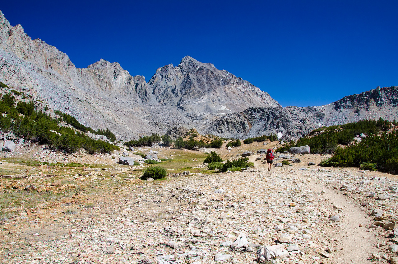 Mt Agassiz and the Bishop Pass Trail, California