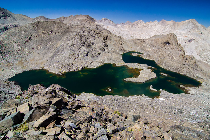 Scylla Lake, Ionian Basin, Kings Canyon National Park