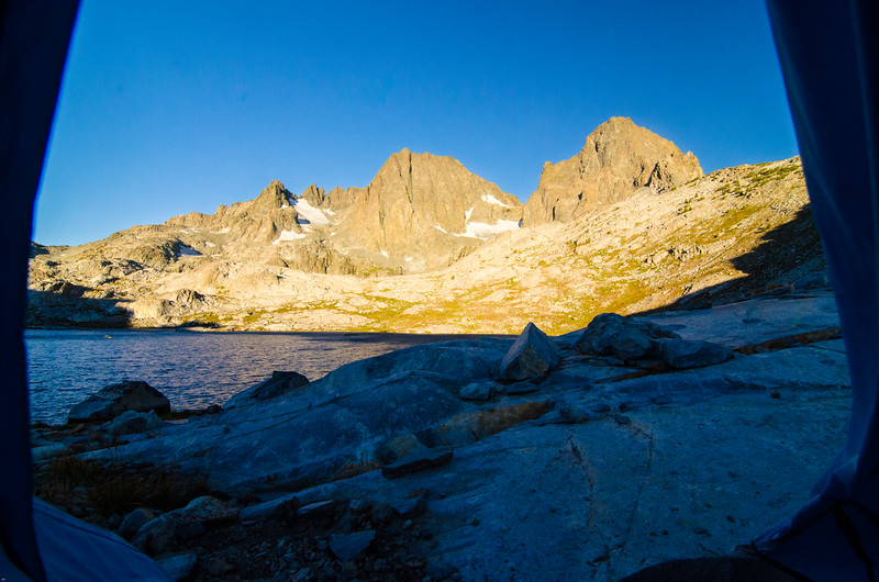 Good Morning!  Ritter and Banner, Ansel Adams Wilderness