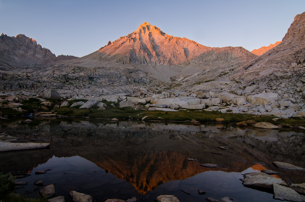 Mt Brewer, Kings Canyon National Park, California