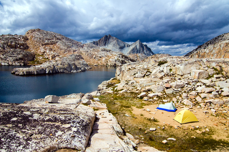 Big Bear Lake Camp, Ansel Adams Wilderness