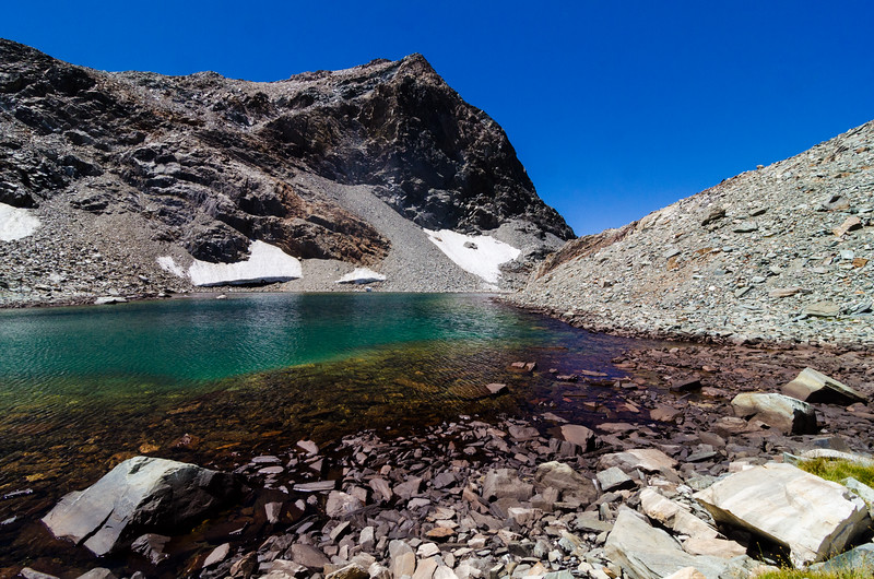 Goddard Pass Lake, Kings Canyon National Park