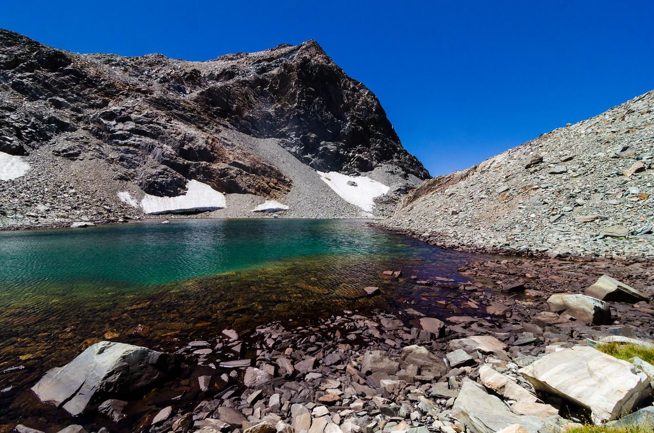 Goddard Pass Lake, Kings Canyon National Park