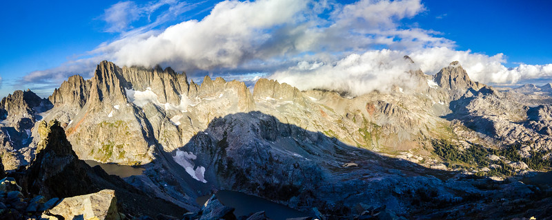 Minarets, Ritter, and Banner, Ansel Adams Wilderness