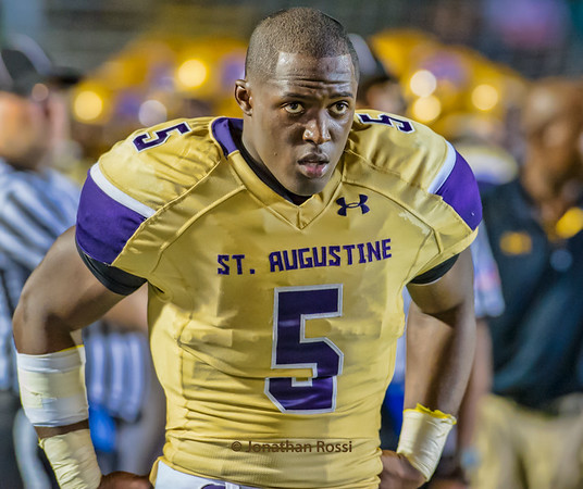 Leonard Fournette of LSU and the Jacksonvilel Jaguars.  His senior year of high school vs John Curtis. 262 yards in a 29-28 win.