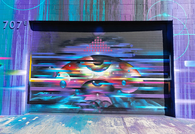 Art District, Los Angeles, California