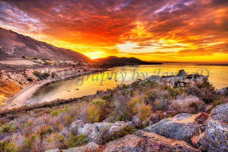 Sunrise_Pirates_Cove_20150913(19 5x13)mat