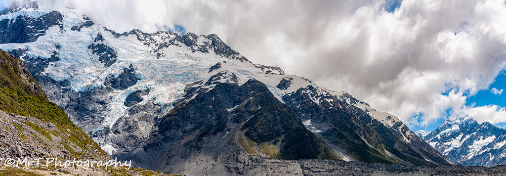 Hooker glacier Aoraki Mt Cook National Park