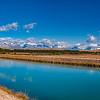 Pukaki irrigation canal<br /> Mackenzie Country