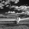 Glider on airfield<br /> Omarama